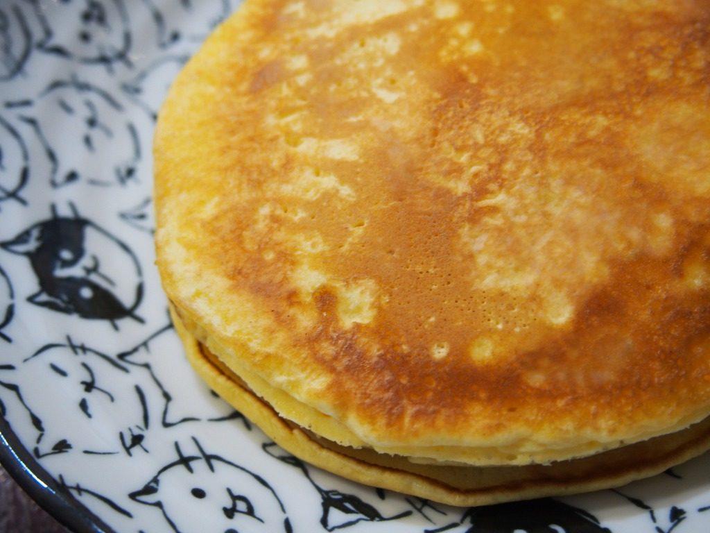天ぷら粉でホットケーキ