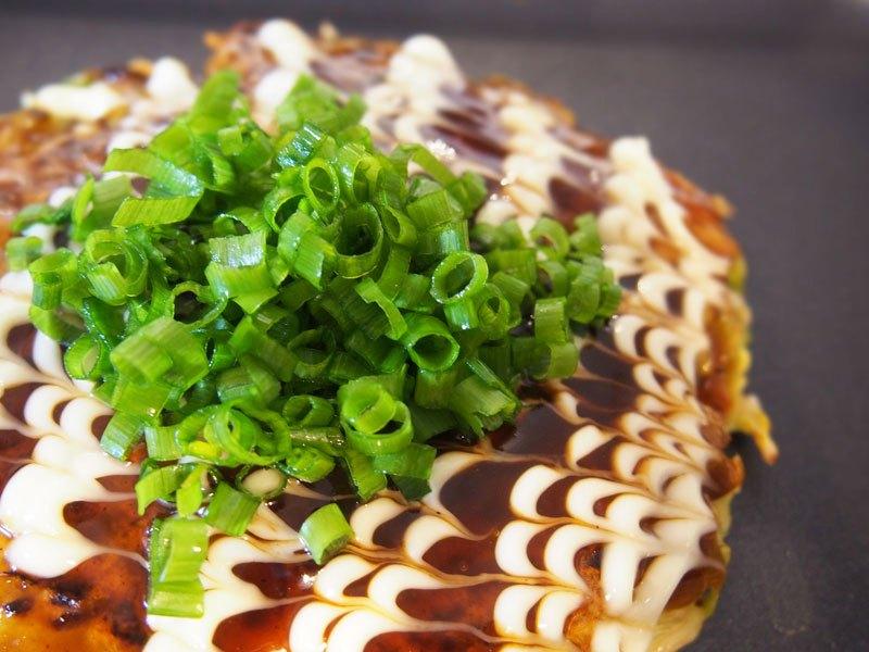 天ぷら粉お好み焼き