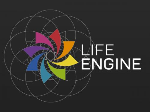 ライフエンジンロゴ