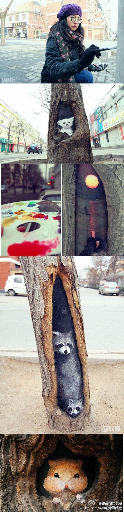 街路樹アート