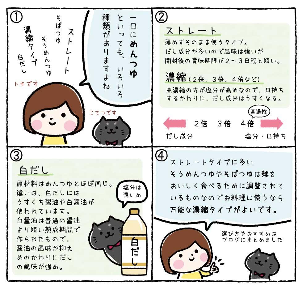 めんつゆ漫画